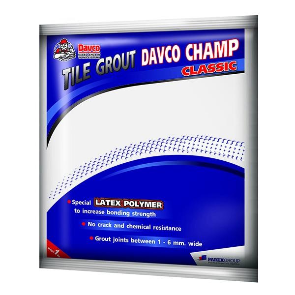 KEO MIẾT MẠCH GẠCH DAVCO CHAMP CLASSIC
