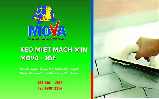 keo miết mạch mịn MOVA - JGF
