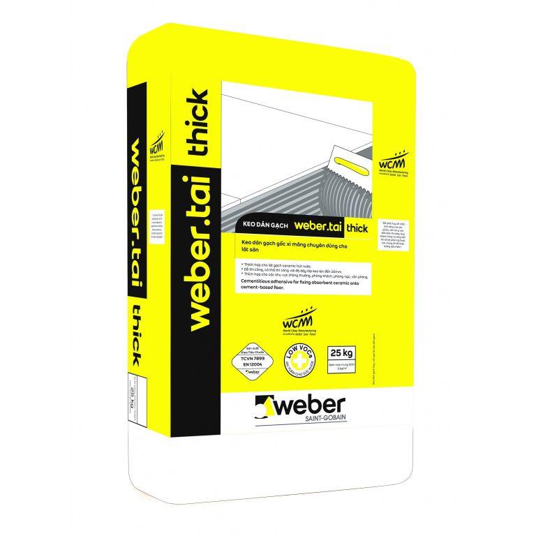 Kinh nghiệm lựa chọn keo dán gạch Weber